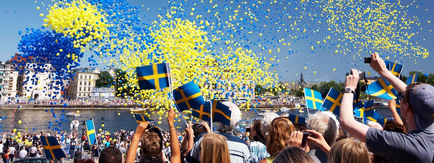 Sweden flag day